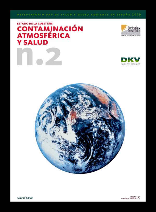 DKV - Contaminación atmosférica y salud - Portada 2D