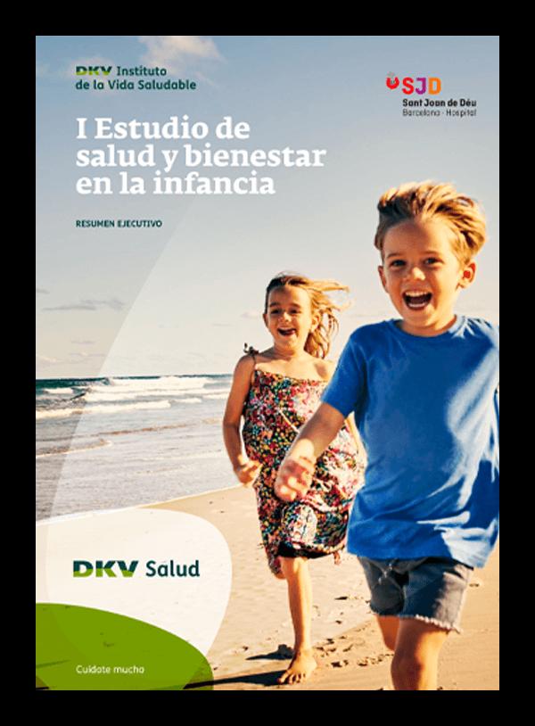 DKV - Estudio de salud y bienestar en la infancia - Portada 2D