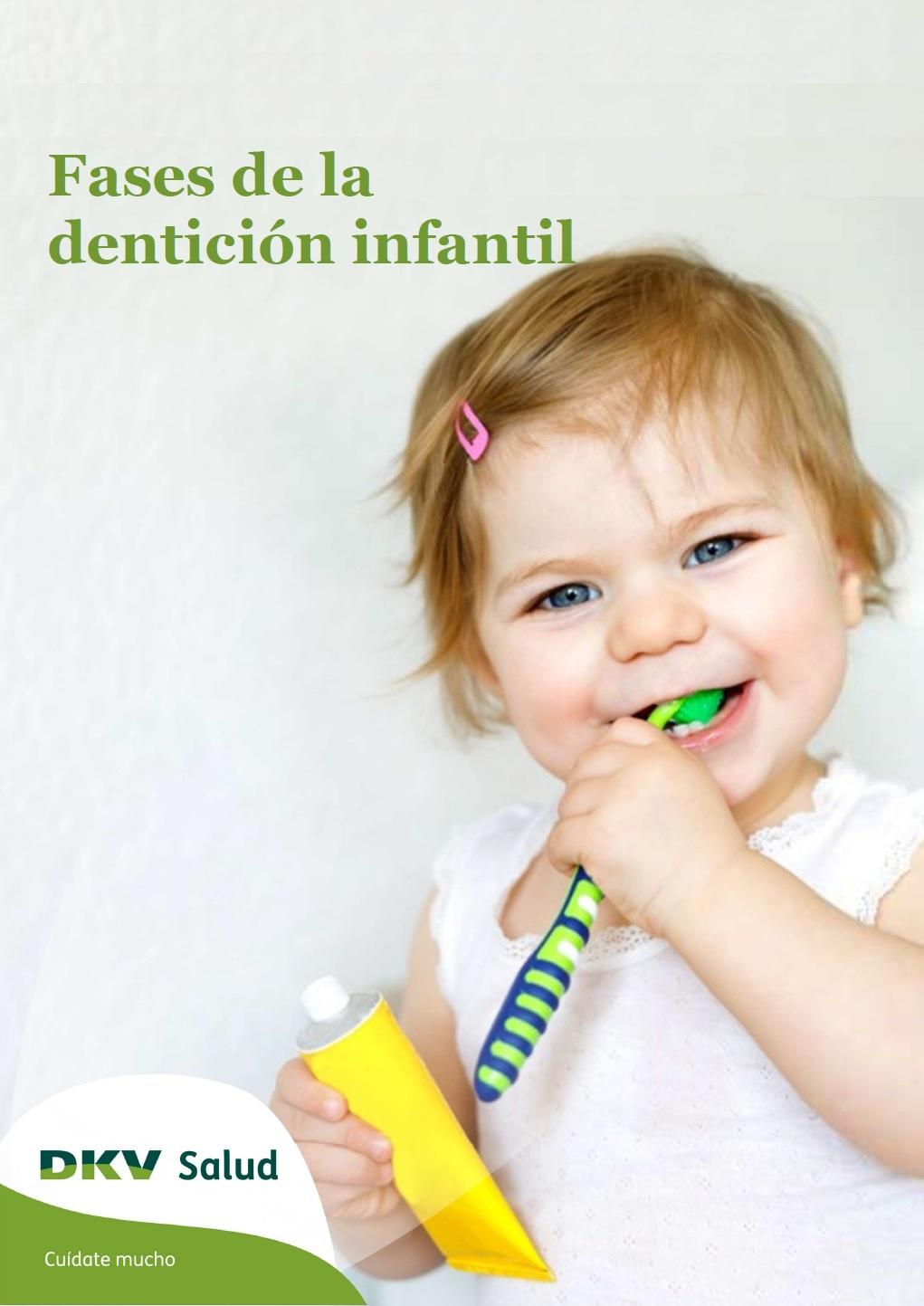 DKV - Denticion infantil - Portada 2D