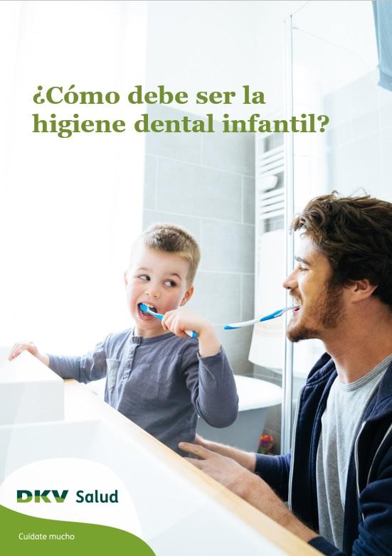 DKV - Higiene dental infantil - Portada 2D