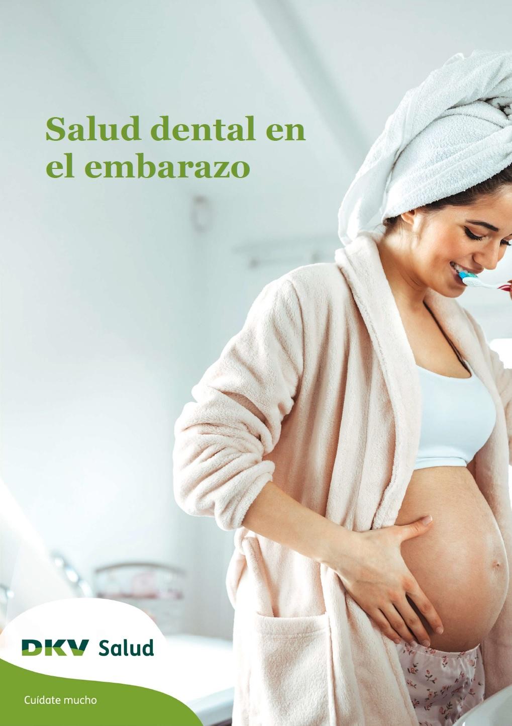 DKV - Salud dental en el embarazo - Portada 2D