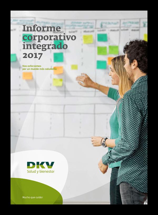DKV - Informe corporativo integrado 2017 - Portada 2D