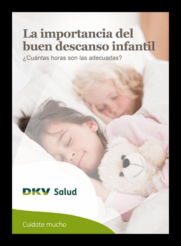 DKV - La importancia del buen descanso infantil - Portada 2D